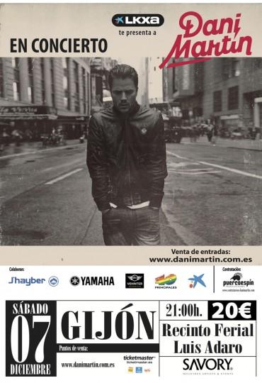 Dani Martín, Gijón – December 7, 2013