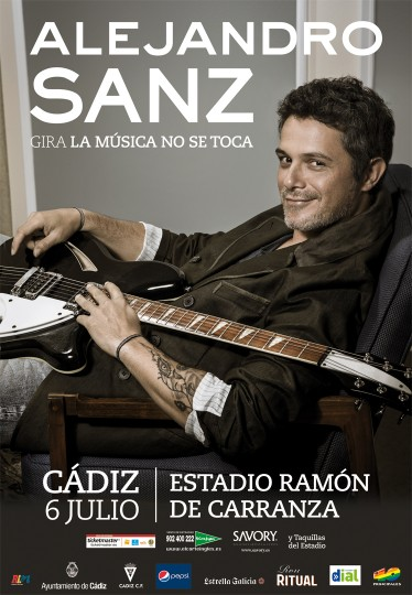 Alejandro Sanz, Cádiz – July 7, 2013