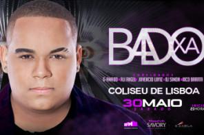 BADOXA o primeiro grande concerto em Lisboa, Coliseu de Lisboa  30 de Maio – 21h