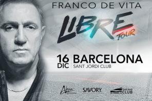 FRANCO DE VITA – 16 DICIEMBRE – BARCELONA