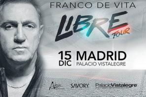 FRANCO DE VITA – 15 DICIEMBRE – MADRID