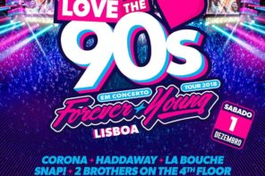 Love the 90's, el mayor festival europeo de música de los 90, llegará por primera vez a Portugal el 1 de diciembre