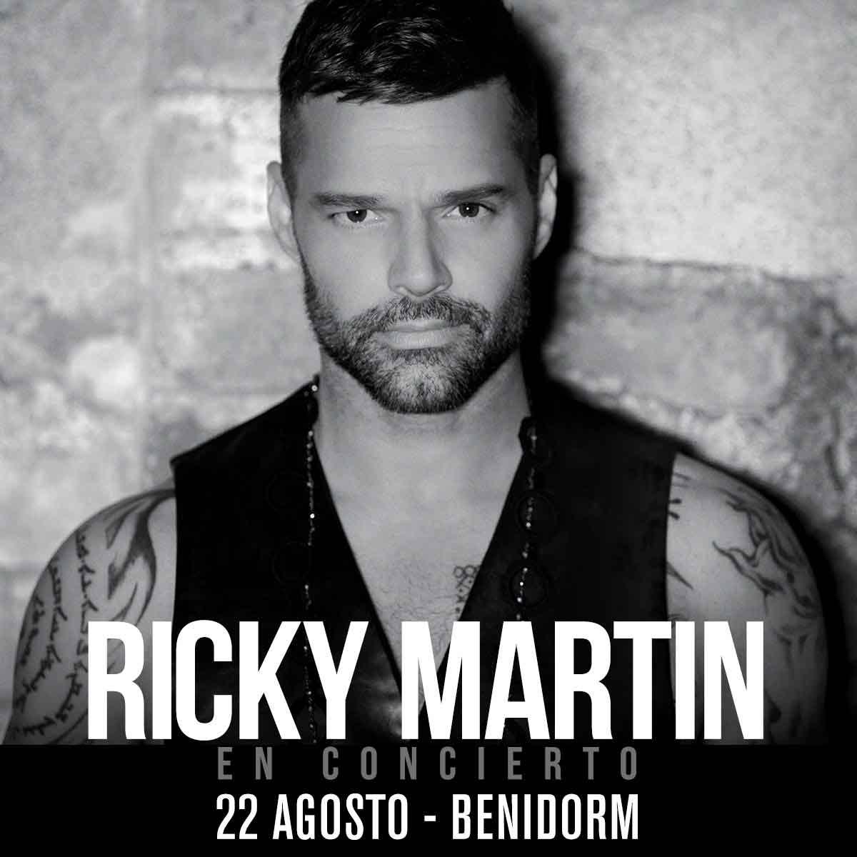 """RICKY MARTIN """"en concierto"""" en BENIDORM"""